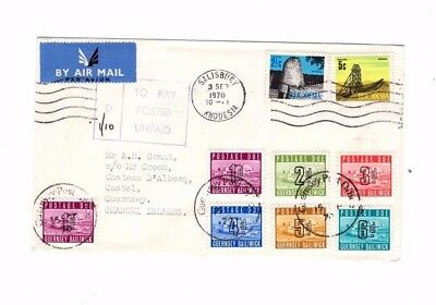 Jersey,  1970 Cover From Rhodesia