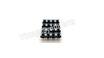 ROLAND D110 - Full set of 16 pushbuttons tact switches - New D-110