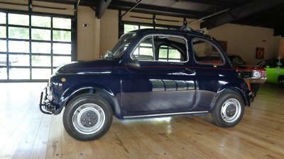 1971 Fiat 500L LEATHER / SOFT TOP
