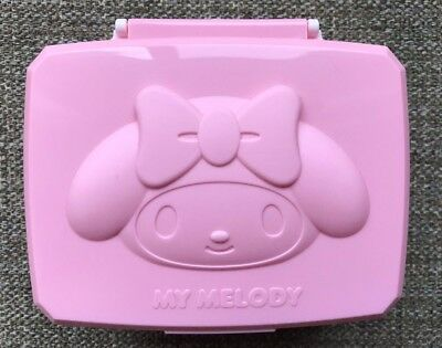 Sanrio My Melody Wipe Sheet  Box Wet Tissue case Free Shipping from Japan