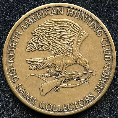 North American Hunting Club / Mountain Lion Coin Token (20.8 Grams 39 mm)