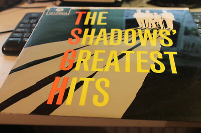 THE SHADOWS ‎‎'Greatest Hits' (SCX 1522) Vinyl LP Album UK 1963