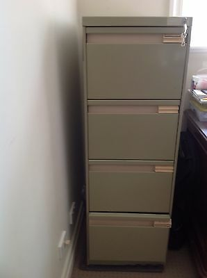 Four Drawer Filing Cabinet - Good Condition
