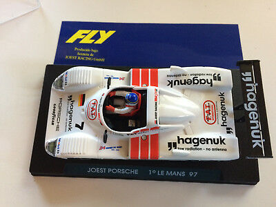 1/32 TWO Fly Joest Porsches Le Mans Winners '96 '97 slot cars