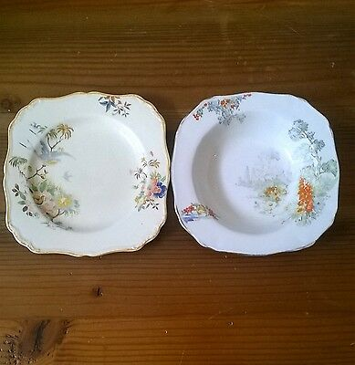 Vintage MEAKIN China - small plate and bowl