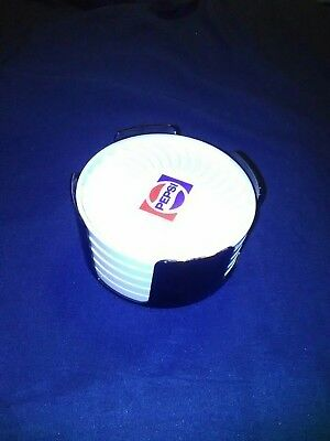 Vintage Pepsi Ritepoint Coasters 70-80s Used Lot of 5