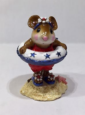 Wee Forest Folk Little Dipper LIMITED  SPECIAL RED WHITE & BLUE (3 Day List)