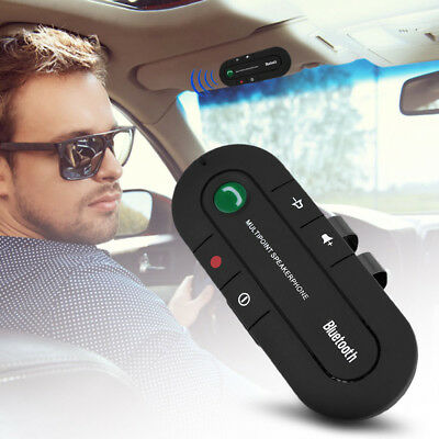 Kit MANOS LIBRES Bluetooth para COCHE Wireless Car Kit Hands-free MP3 Music Play