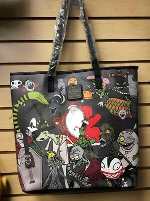 Loungefly Nightmare Before Christmas Tote Bag Purse