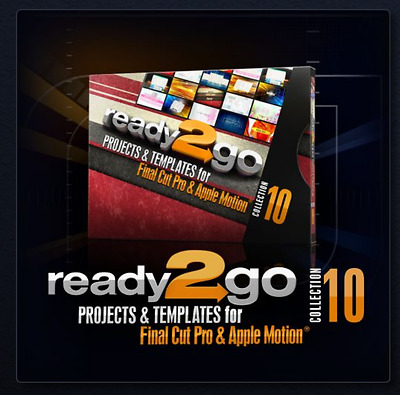 Digital Juice NEW R2go Proj. & Templates for FCP & Apple Motion Collection 10