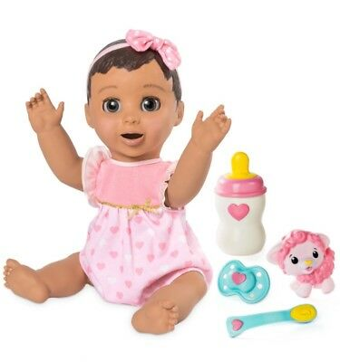 Luvabella - Brunette Hair, Responsive Baby Doll - 100% AUTHENTIC - BRAND NEW