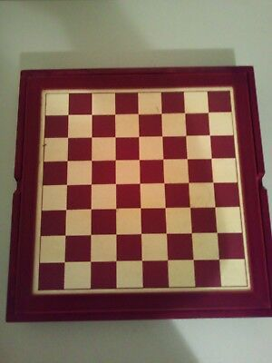 Wooden Chess and Backgammon Set
