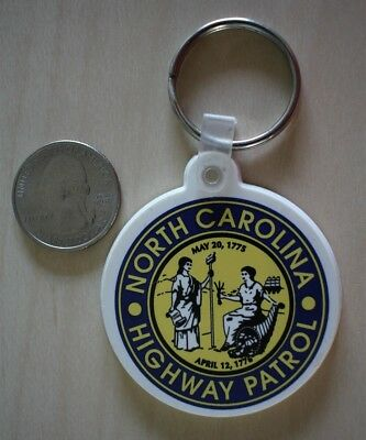 North Carolina Highway Patrol Seal Keychain Key Ring #25676