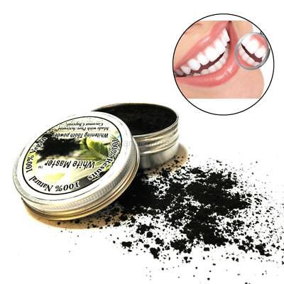 Activated Bamboo Charcoal Toothpaste Tooth Powder Odor Whitening Breath Coconut
