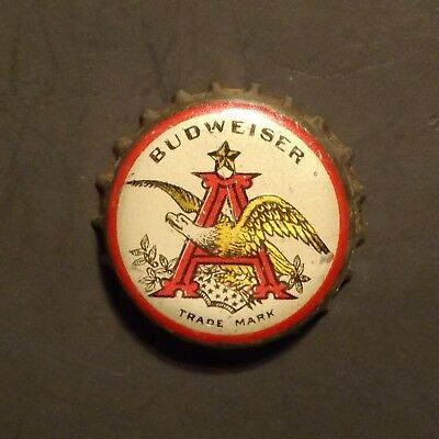 Old Cork Backed Beer Bottle Crown - Anheuser Busch #2 St. Louis, MO No Reserve!
