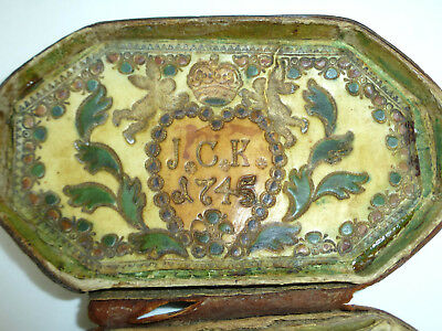 MUSEAL Snuffbox from the noble descent 1745 Saying 18 Century