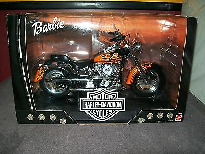 2000 Barbie Harley-Davidson Flamin' Fatboy - 2Nd Release - New - Near Mint