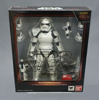 SH S.H. Figuarts First Order Stormtrooper (The Last Jedi) Special Set Bandai ***