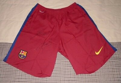 FC Barcelona Shorts hand signed autographed by Lionel Messi & Neymar Jr COA