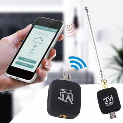 USB DVB-T Digital TV Tuner Receiver Stick +Antenna For Android Support OTG