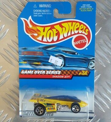 Hotwheels 1999 GAME OVER SERIES NO 2 OF 4 SHADOW JET