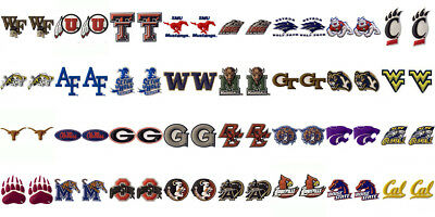 Jibbitz Ncaa Licensed, Rare Collectible Shoe Charms