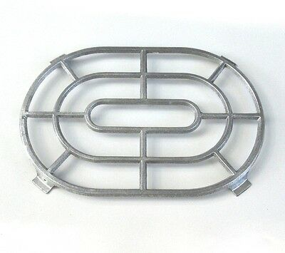 "Vintage French Cast Aluminum Trivet Stamped ""Made in France"""
