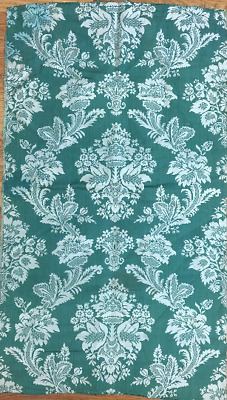 19th Century French Silk Woven Damask Fabric
