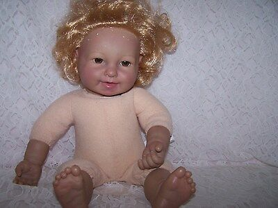 Baby So Real Realistic/ Reborn Doll,vinyl And Cloth, Red Hair -Brown Eyes 2007