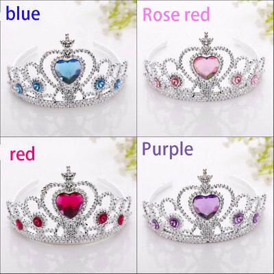 Girls Head Kids Tiara Baby Princess Crown Children Hair Accessories Party New!
