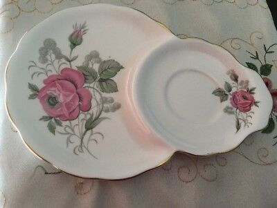 Queen Anne Saucer/Plate/Tennis Set