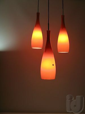 Leuchte Lampe BASE Made in Italy VISTOSI Holmegaard Style ~ 1960 ...