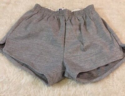 Dead Stock Vintage Russell Athletics Tri Blend Shorts Mens Size Small Gray Gym