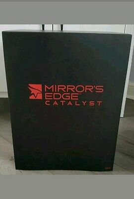 """Mirror's Edge Catalyst Collectors Statue Limited Faith New Boxed 14"""" Mirrors"""