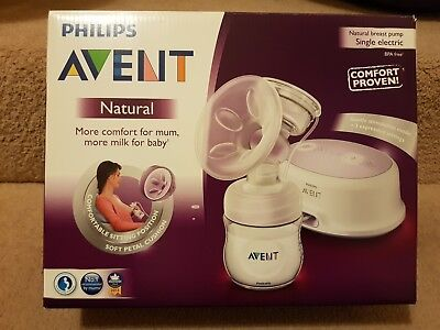 Phillips AVENT Natural Electric Breast Pump Single