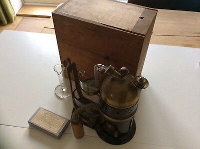 Rare Medical Steam Atomizer C1869  Made By Codman & Shurtleff Of Boston Usa
