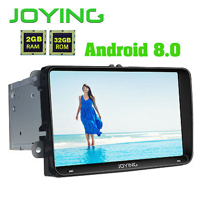 """PX5 HD 9"""" 2Din Car Stereo for VW Skoda Seat Android 8.0 iPhone Zlink Octa Core"""