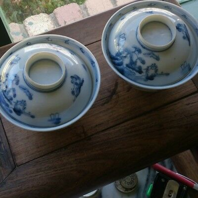 2 antique Chinese bowls