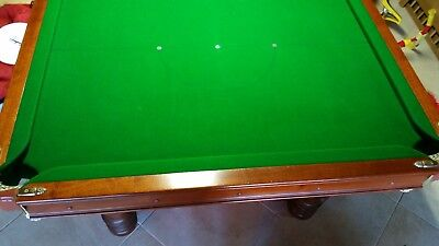 "Slate Pool Table 7'6"" x 3'6"""