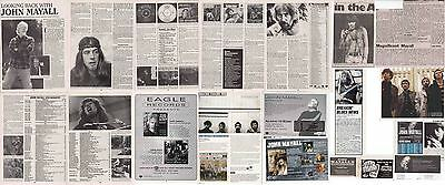 JOHN MAYALL : CUTTINGS COLLECTION -adverts interview-