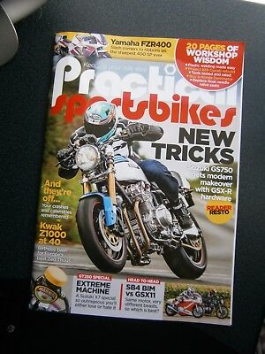 Practical Sportsbikes Magazine October Issue 2017 (new)