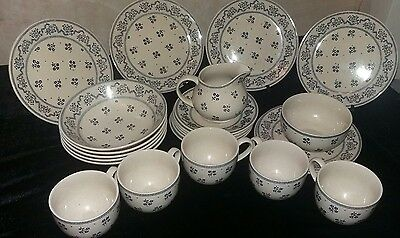 Laura ashley petite fleur tea set