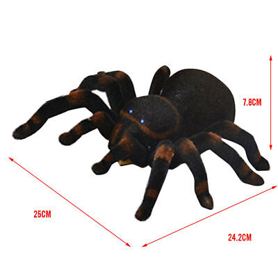 Remote Control Realistic RC Spider Scary Toy Prank Holiday Gift Model  66