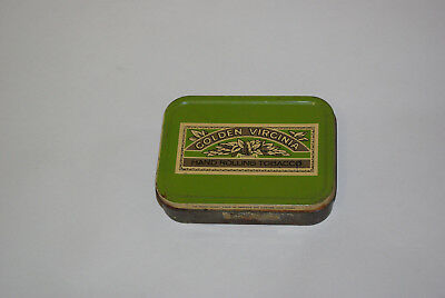 Golden Virginia - hand rolling tobacco tin 1970's vintage