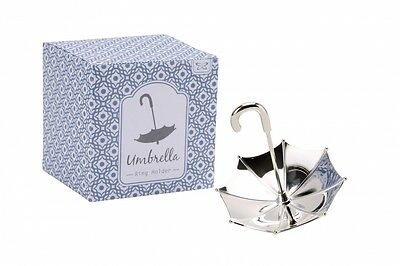 Silver Umbrella Ring Holder Ring Stand Ring Display Jewellery Stand