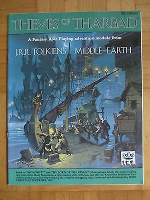 Thieves of Tharbad - #8050 – English Merp Middle Earth lotr Rolemaster rpg ring