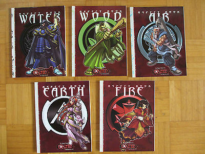 EXALTED - ASPECT BOOK - Air Wood Fire Role Player sourcebook guide White Wolf