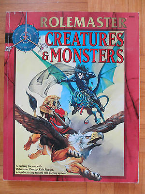 RoleMaster – CREATURES & MONSTERS - Englisch +5802 – ICE FRPG Guide RM Fantasy