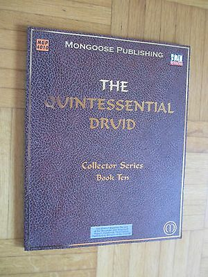 THE QUINTESSENTIAL DRUID book ten MGP #4010 ENGLISCH d20 System Fantasy Dungeon