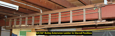 Ladder Bailey Timber Extension Ladder